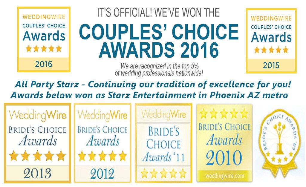 Lancaster PA 2016 Wedding Wire Couple's coice Awards