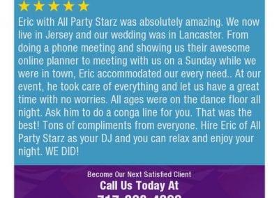 Lancaster Pa Dj Reviews Eric Godfrey All Party Starz 08 1