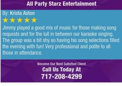 Lancaster Pa Dj Reviews Jimmy Rodriguez All Party Starz 09 2