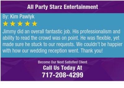 Lancaster Pa Dj Reviews Jimmy Rodriguez All Party Starz 13 2