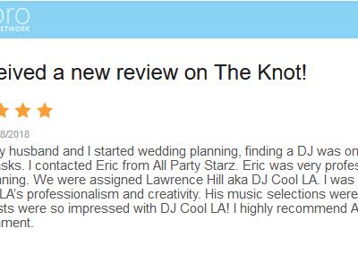 Lancaster Wedding Dj Review Dj Cool La All Party Starz Entertainment Dj 02
