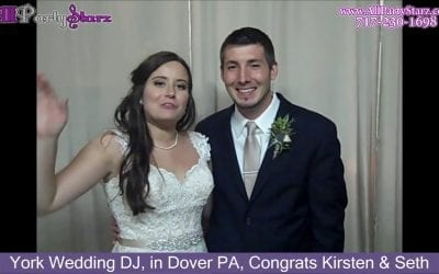 York Wedding DJ, in Dover PA, Congrats Kirsten & Seth
